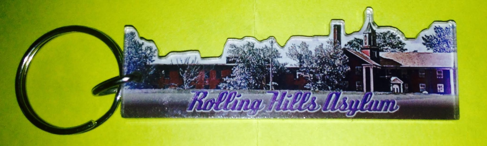 Rolling Hills Double Sided Key Chain