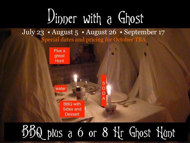 DInner With A Ghost Event