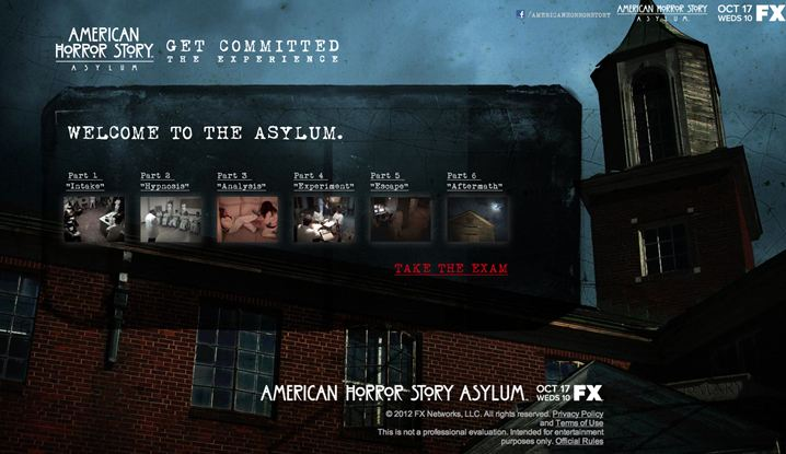 What is FX's American Horror Story Asylum's Connection to