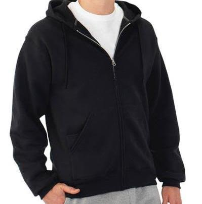 Unisex Zip Hoodie with Media Pocket